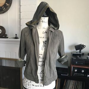 3/$10❣️ Others Follow Zip Up Hooded Jacket